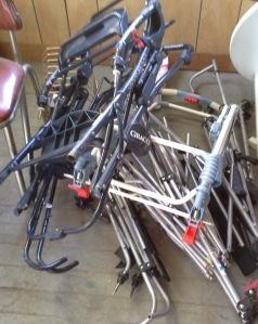 metal stroller frames